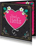 Liefde kaarten - Veel liefs - TW