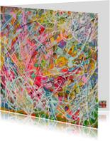 Kunstkaarten - Verfrissend geluk