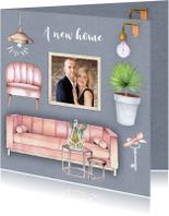 Verhuiskaarten - Verhuisd inrichting meubels