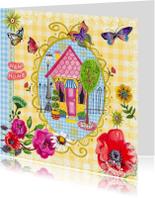 Verhuiskaarten - Verhuiskaart BB Bloemen Cartita Design