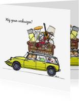 Verhuiskaarten - Verhuiskaart Citroen DS break av