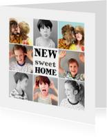 Verhuiskaart collage foto's