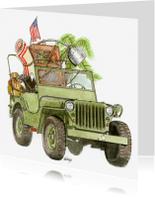 Verhuiskaarten - Verhuiskaart Jeep