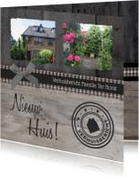 Verhuiskaarten - Verhuiskaart Klassiek Eigen foto