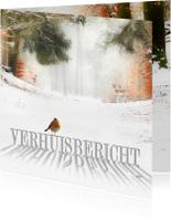 Kerstkaarten - Verhuiskaart met kerstwens