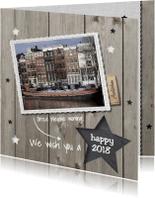 Verhuiskaarten - Verhuiskaart met Nieuwjaarsgroet