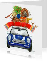 Verhuiskaarten - Verhuiskaart  Mini Cooper