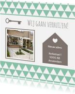 Verhuiskaarten - Verhuiskaart Nieuw adres - WW
