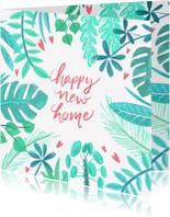 Verhuiskaarten - Verhuiskaart planten