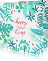 Verhuiskaart planten