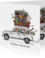 Verhuiskaarten - Verhuiskaart Renauld 4 wit