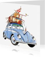 Verhuiskaarten - Verhuiskaart Volkswagen Kever