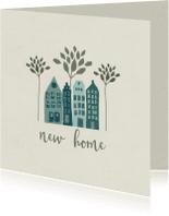 Verhuiskaarten - Verhuiskaarten In het groen