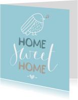 Verhuiskaarten - Verhuizen Home Vogeltje