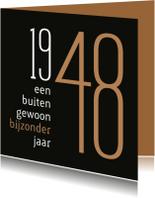 Verjaardagskaarten - Verjaardag geboorte 1948