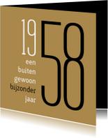 Verjaardagskaarten - Verjaardag geboorte 1958