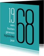 Verjaardagskaarten - Verjaardag  geboorte 1968