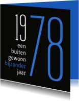 Verjaardagskaarten - Verjaardag geboorte 1978