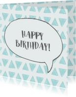 Verjaardag happy birthday grafik