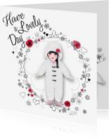 Vriendschap kaarten - Verjaardag Lovely Day -LT