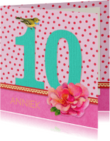 Verjaardagskaarten - Verjaardag Meisje 10