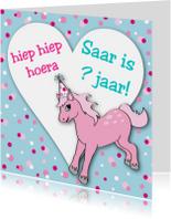 Verjaardagskaarten - Verjaardag Meisje Pony