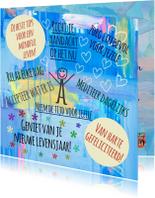 Verjaardagskaarten - Verjaardag Mindful Leven IW