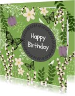 Verjaardagskaarten - Verjaardag natuur - SV