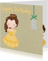 Verjaardagskaarten - Verjaardag Prinsesjes5 - TJ
