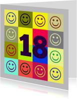 Verjaardagskaarten - Verjaardag Smile All Day IW