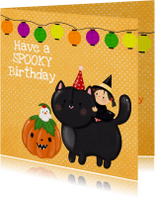 Verjaardagskaarten - Verjaardag Spooky Birthday