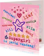 Verjaardagskaarten - Verjaardag Supertof IW
