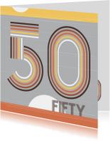 Verjaardagskaarten - Verjaardagkaart-Fifty!-HK