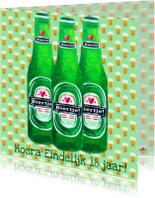 Verjaardagskaarten - Verjaardagskaart 18 Bier PA