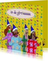Verjaardagskaarten - Verjaardagskaart  A capella