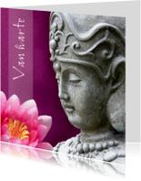 Verjaardagskaarten - Verjaardagskaart Boeddha KwanYin