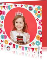 Verjaardagskaarten - Verjaardagskaart grote foto - DH