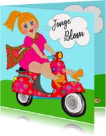 Verjaardagskaarten - Verjaardagskaart Jonge Blom PA