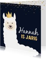 Verjaardagskaarten - Verjaardagskaart Lama