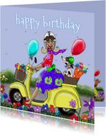 Verjaardagskaarten - Verjaardagskaart Prachtige dag