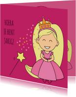Verjaardagskaarten - verjaardagskaart - prinses - MG