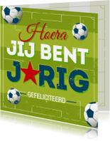 Verjaardagskaarten - Verjaardagskaart voetbal-PC