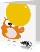 Verjaardagskaarten - Verjaardagskaart volwassene met ballon van Mo Cards