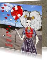 Verjaardagskaarten - Verjaardagskaart Zeeuwse ballon