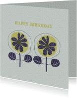 Verjaardagskaarten - Verjaardagskaarten  patroon achtergrond