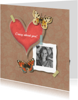 Liefde kaarten - Verliefd - Crazy About You - MW