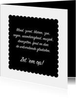 Succes kaarten - Vierdaagse Succes wensen