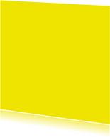 Blanco kaarten - Vierkant enkel geel