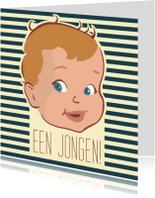 Felicitatiekaarten - Vintage een jongen