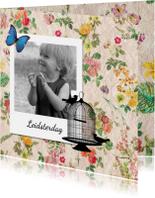 Bedankkaartjes - Vintage kaart leidsterdag - DH